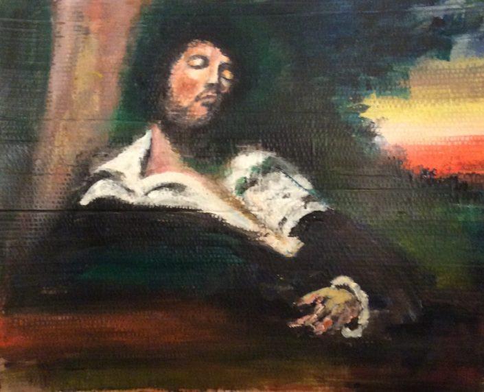 L'Homme blessé de Gustave Courbet