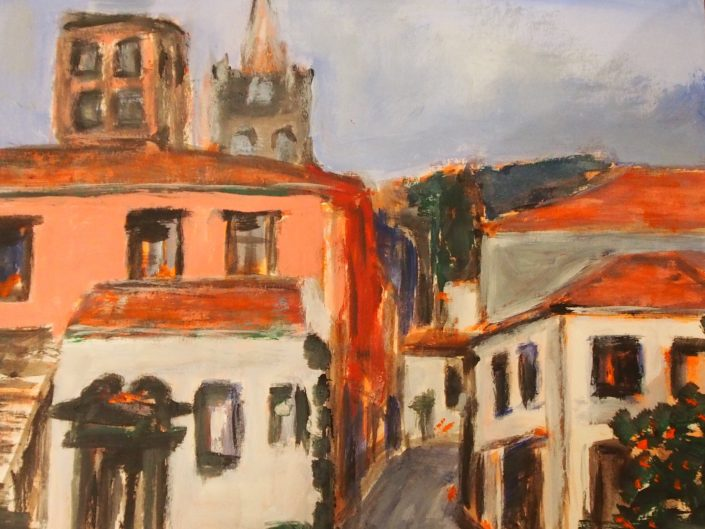 une rue de Funchal